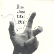 Flim, Ohne Titel, 1916, Plinkity Plonk, acoustic/digital, electronica, Korm Plastics, minimal, Enrico Wuttke, piano, musica minimale elettronica, pianoforte, classica, cover design, Christos Lialios, flim_ohnetitle1916.jpg